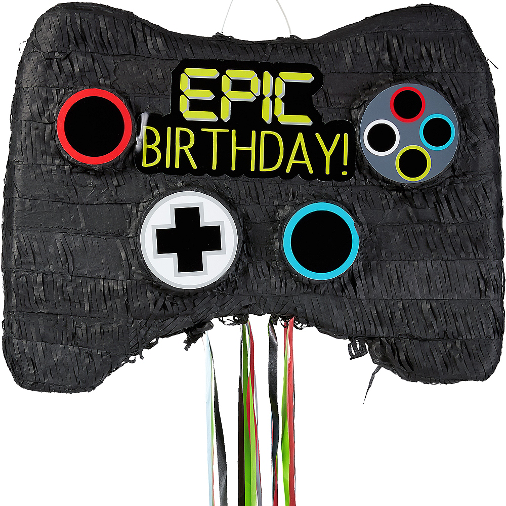 Pull String Video Game Controller Pinata Image #1