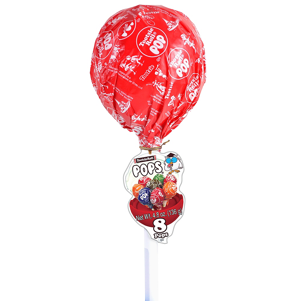 Giant Tootsie Pop Container with Lollipops Image #1