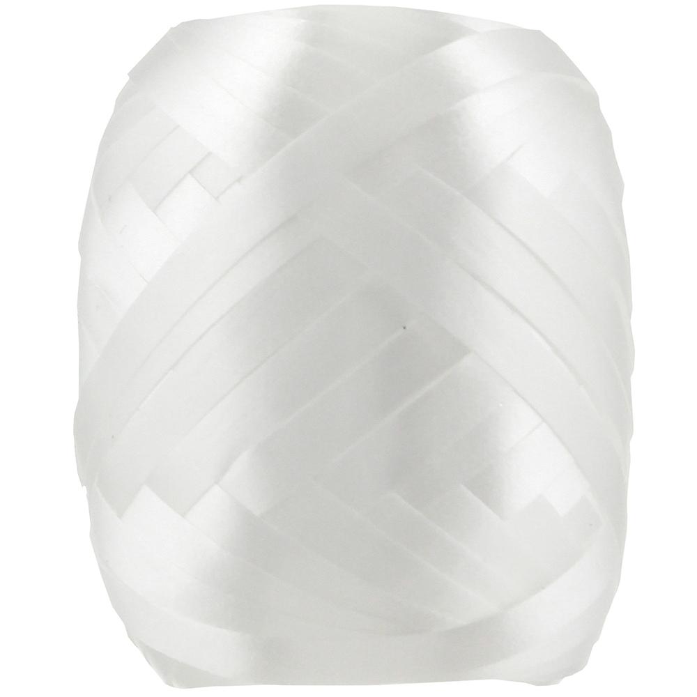 White Curling Ribbon Keg Image #1