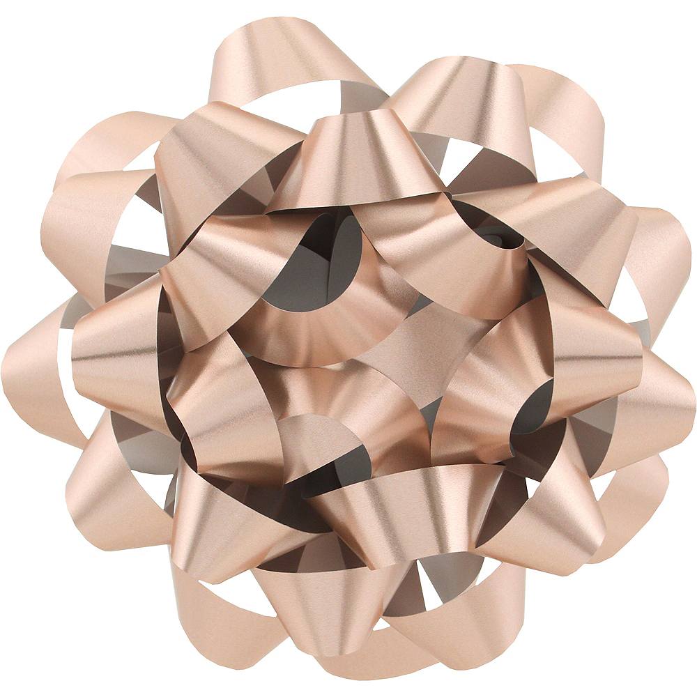 Nav Item for Rose Gold Gift Bow Image #1