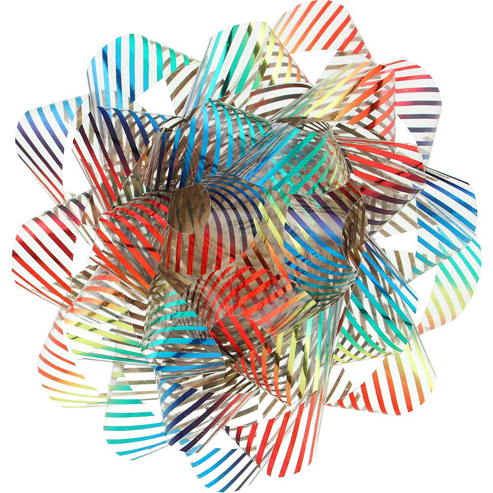 Metallic Rainbow Gift Bow Image #1