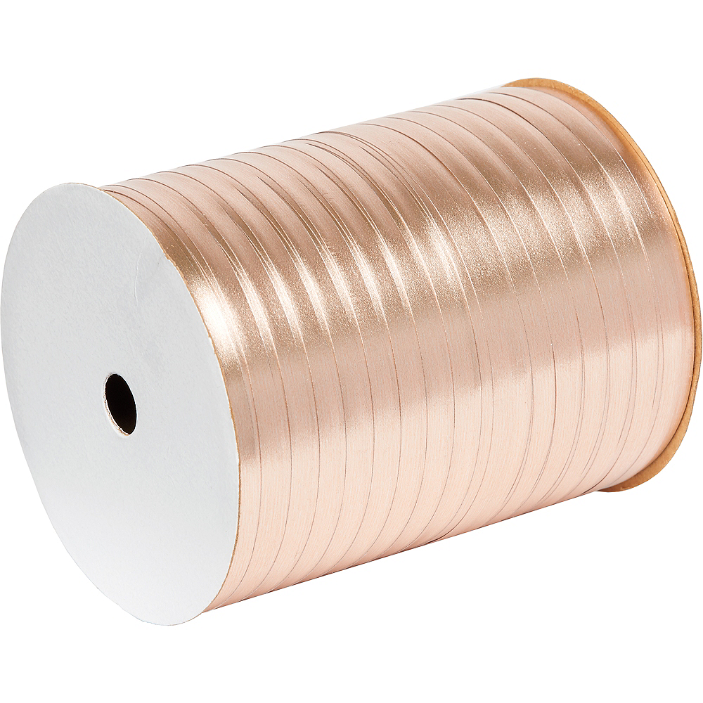 Nav Item for Metallic Rose Gold Curling Ribbon Image #1