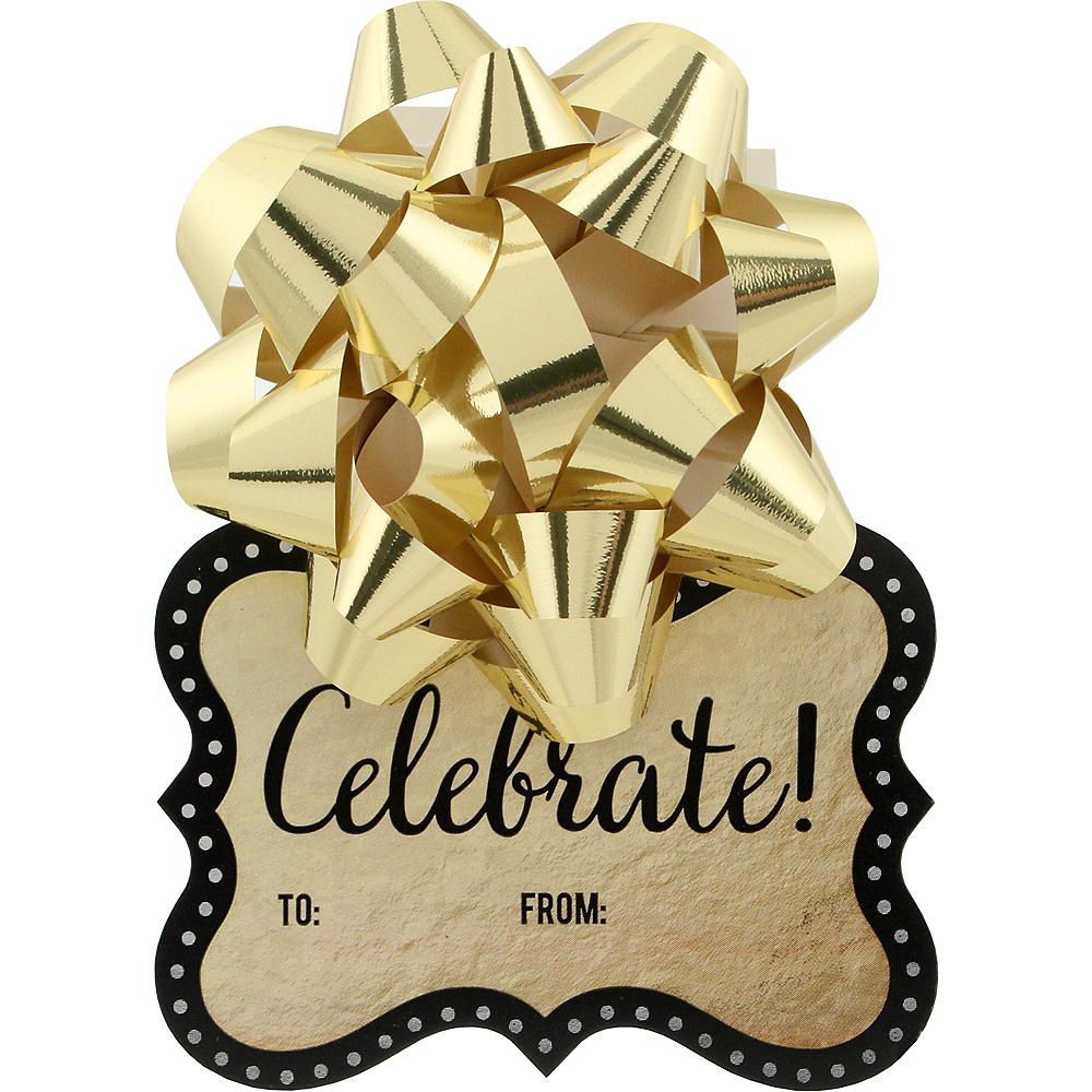 Metallic Gold Gift Wrap Set Image #2