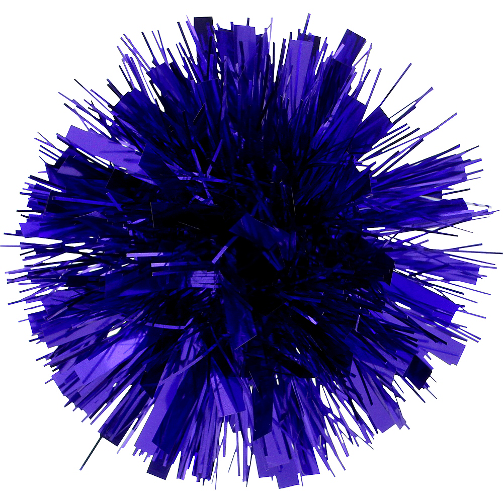 Blue Tinsel Gift Bow Image #1