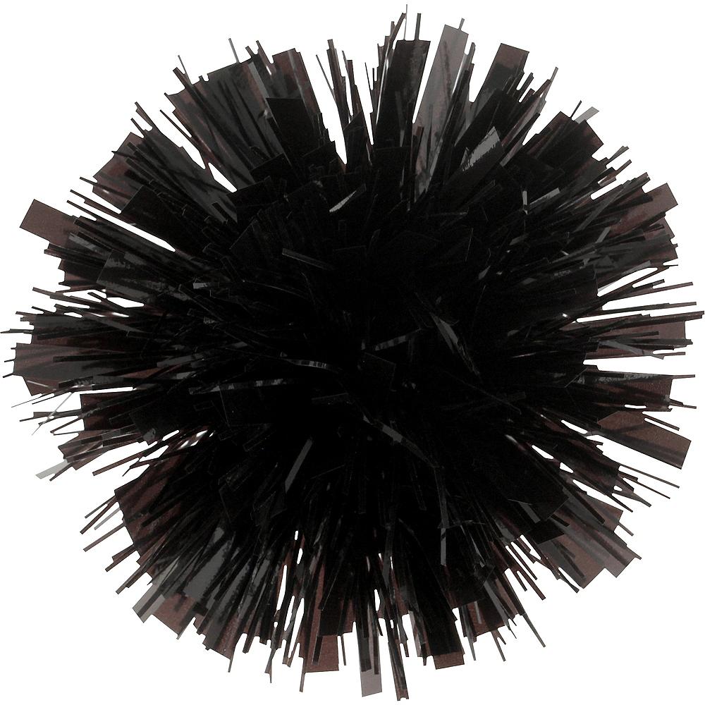 Black Tinsel Gift Bow Image #1