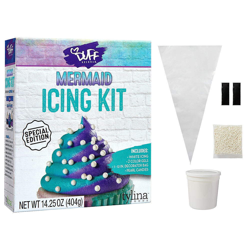 Duff Goldman Mermaid Icing Kit 14.25oz | Party City