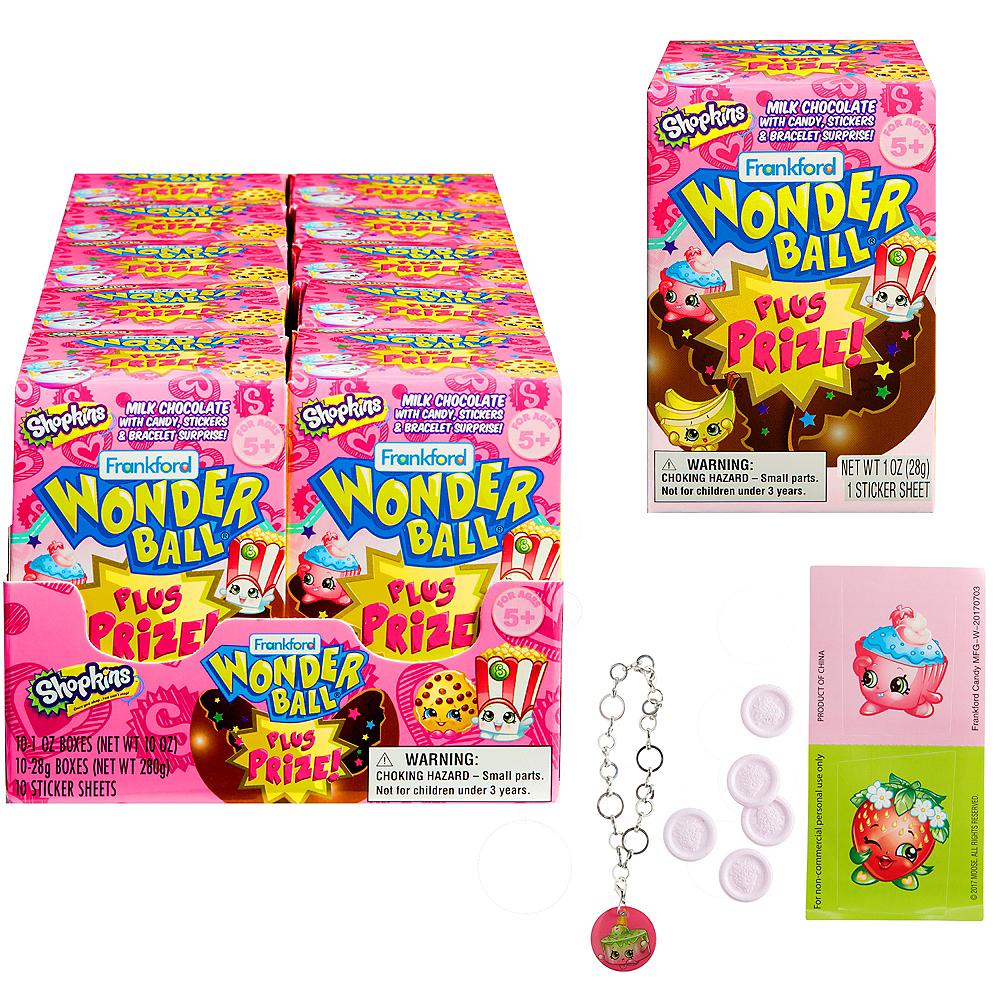 Milk Chocolate Shopkins Wonder Ball 1oz Party City