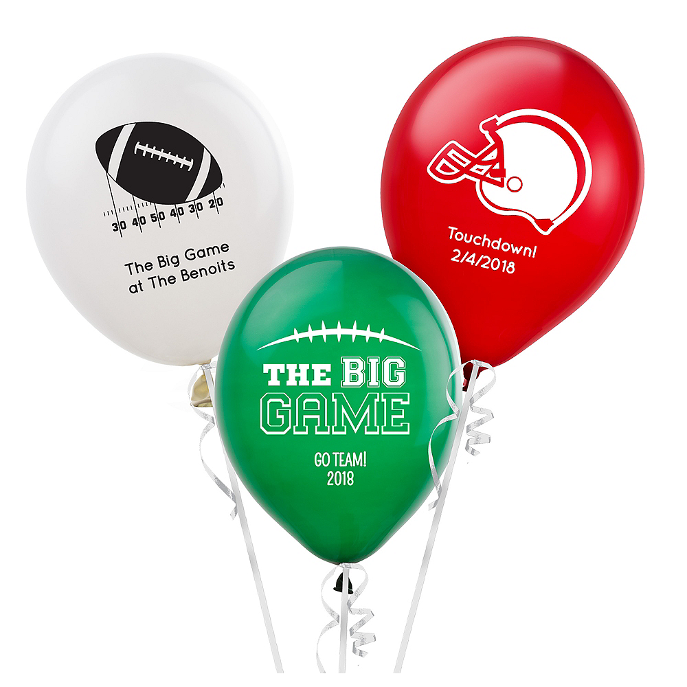 """16/"""" Custom Printed Latex Balloons Personalized Business Promo Wedding Party"""