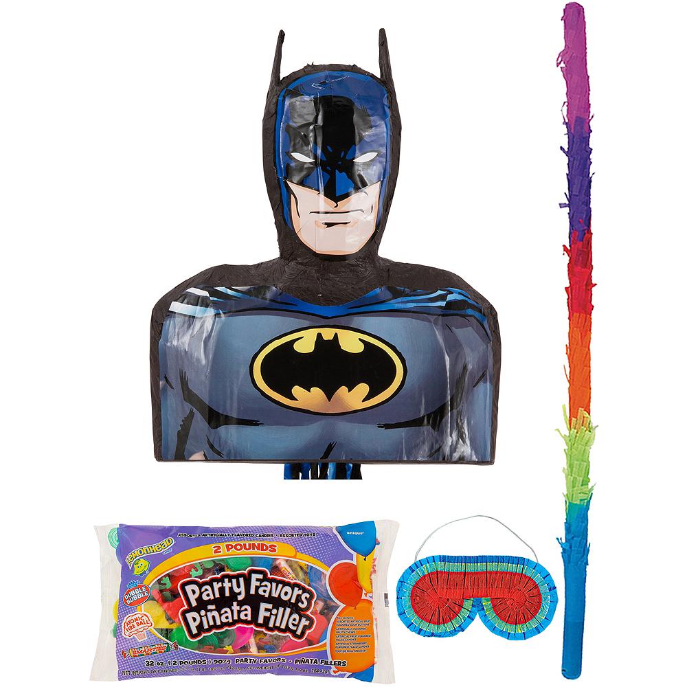 Batman Pinata Kit with Candy & Favors Image #1