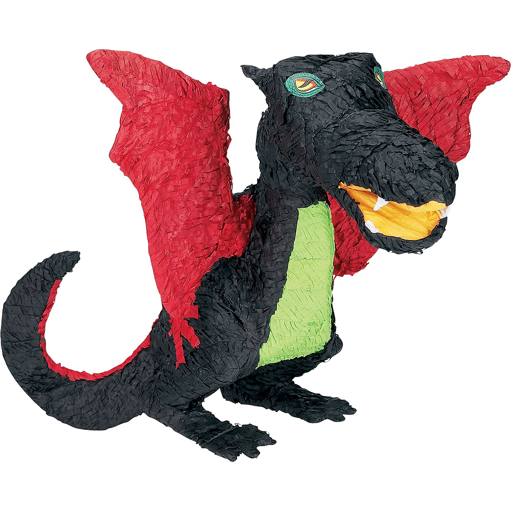 Black Dragon Pinata Kit with Candy & Favors Image #2