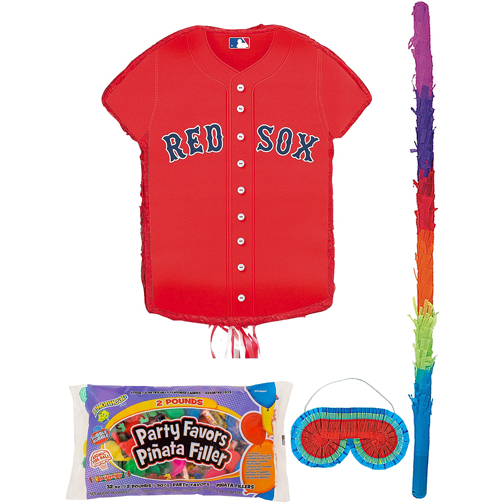 Boston Red Sox Pinata Kit with Candy & Favors Image #1