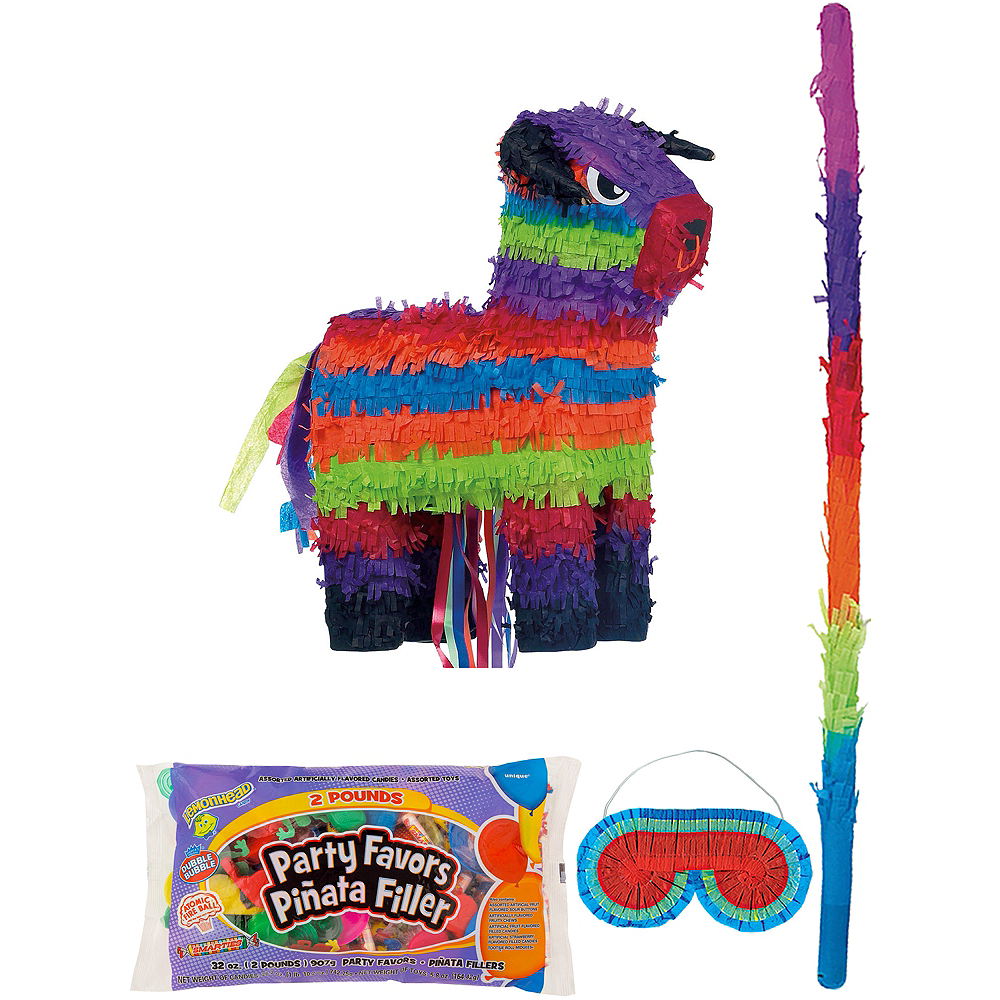Bull Pinata Kit with Candy & Favors Image #1