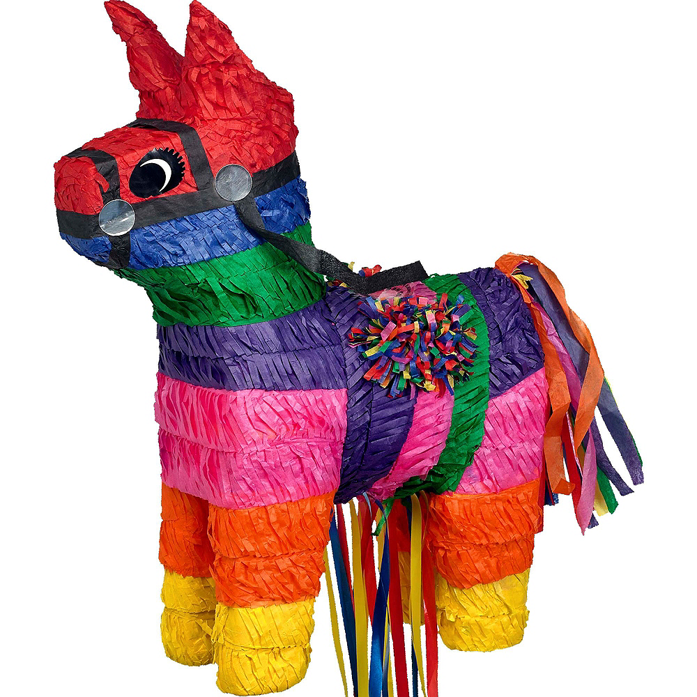 Burro Pinata Kit with Candy & Favors Image #2