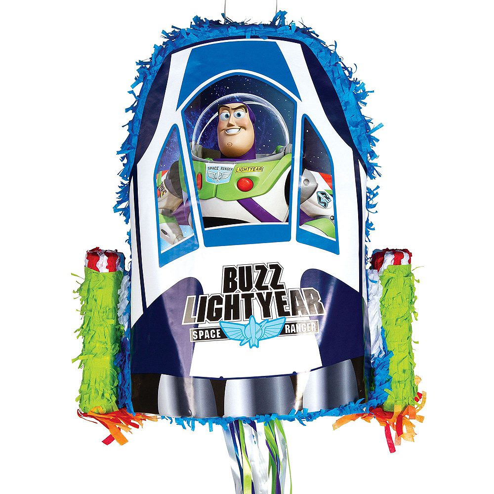 Nav Item for Buzz Lightyear Pinata Kit with Candy & Favors - Toy Story Image #2