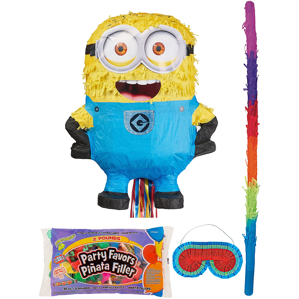 Carl Minion Pinata Kit With Candy Favors