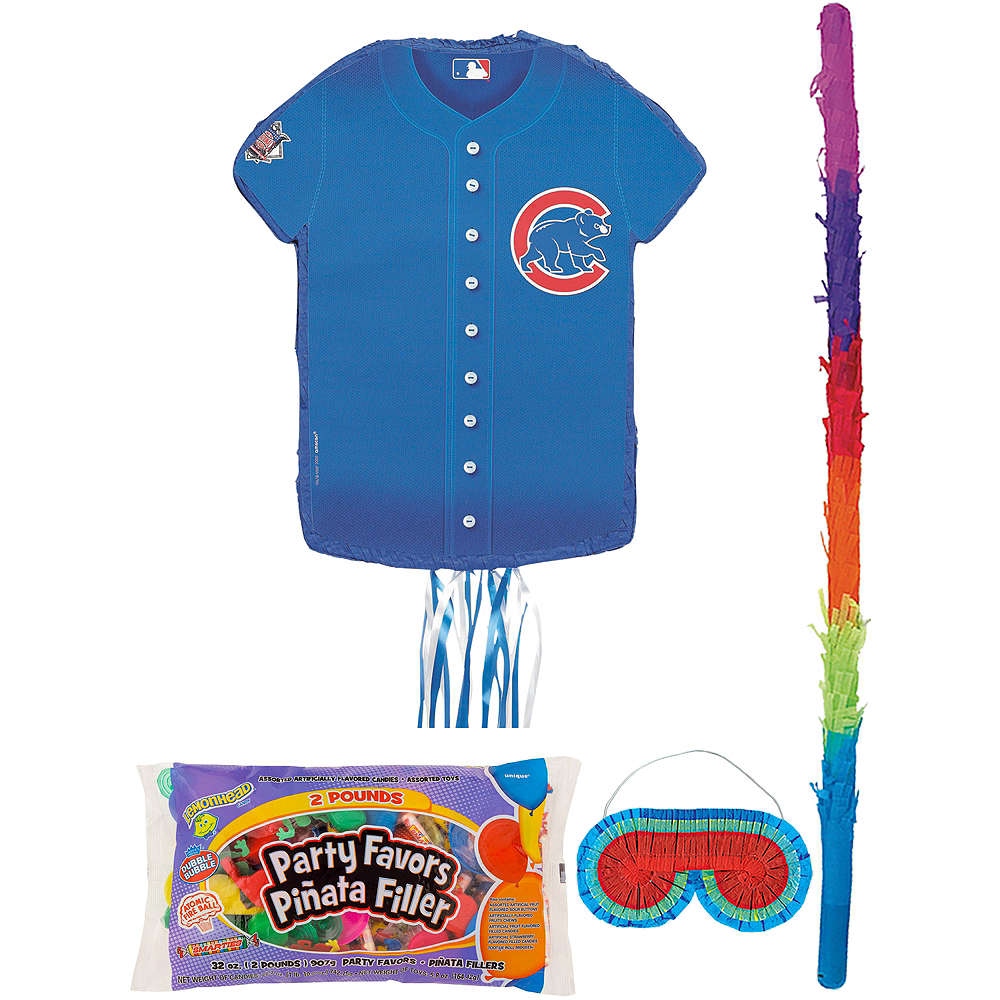 Chicago Cubs Pinata Kit with Candy & Favors Image #1