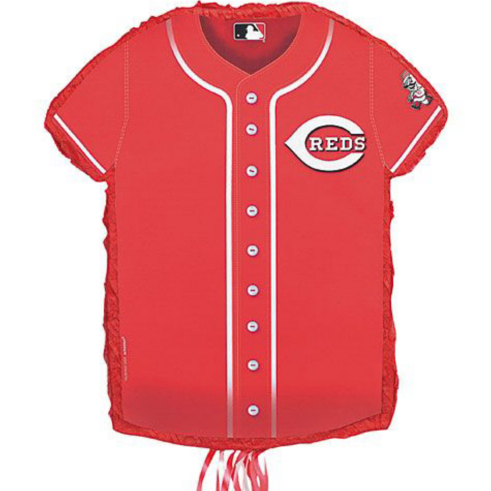 Cincinnati Reds Pinata Kit with Candy & Favors Image #2