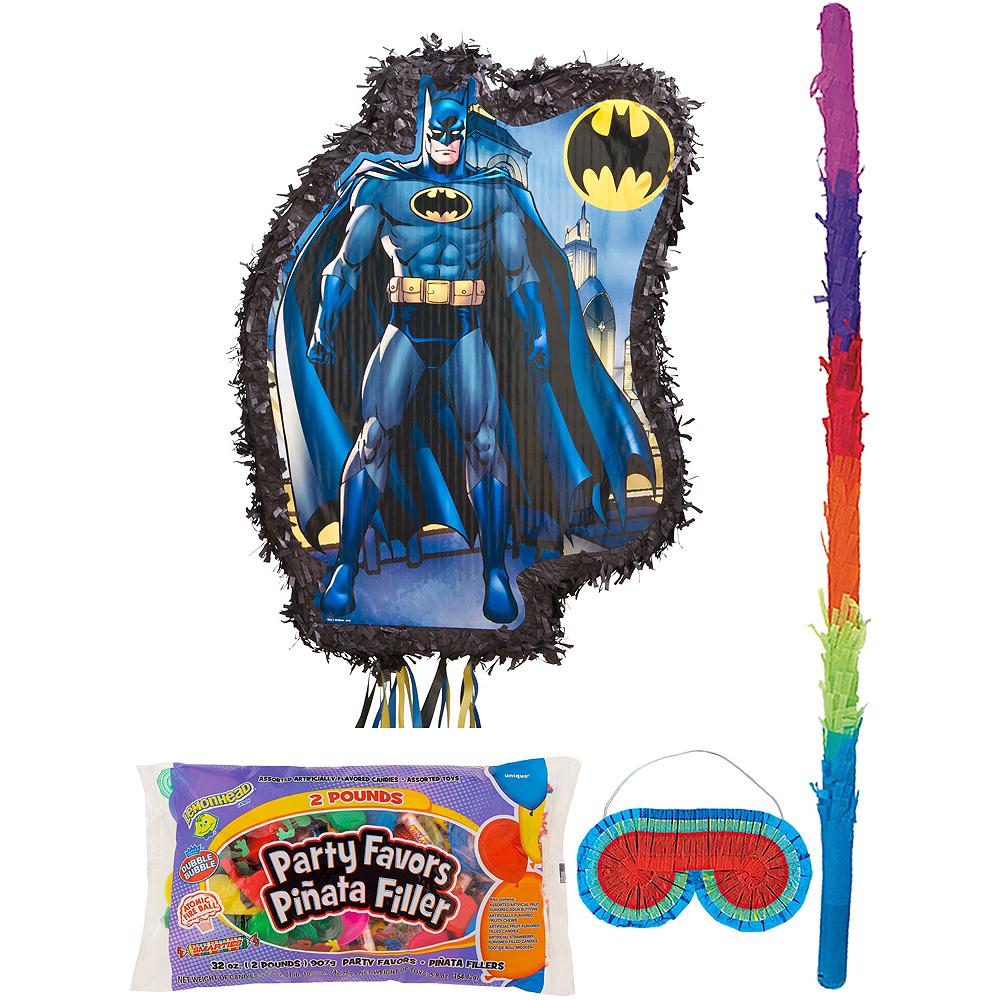 Comic Batman Pinata Kit with Candy & Favors Image #1