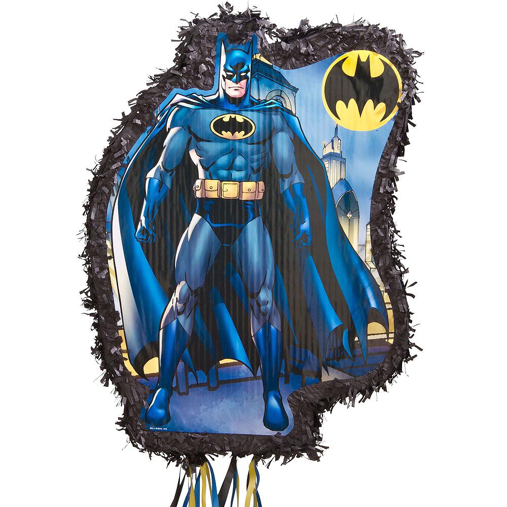 Comic Batman Pinata Kit with Candy & Favors Image #2