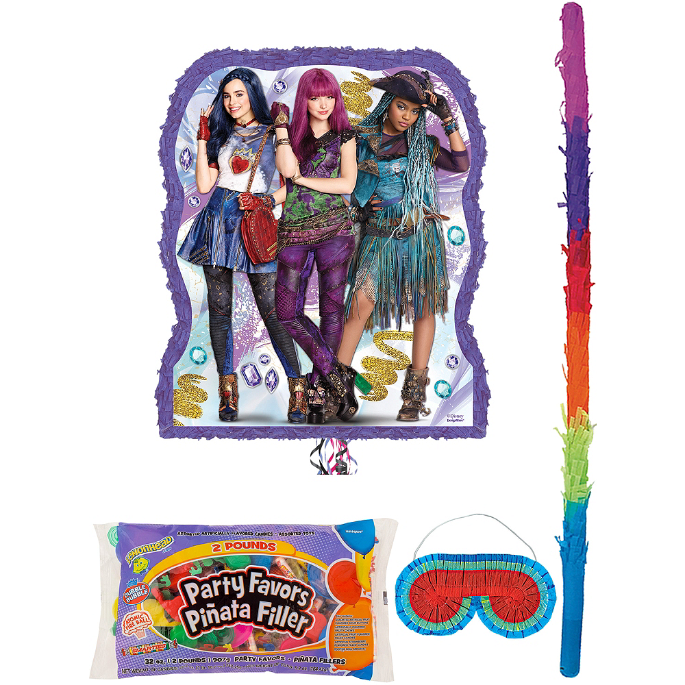 Descendants 2 Pinata Kit With Candy Favors Image 1
