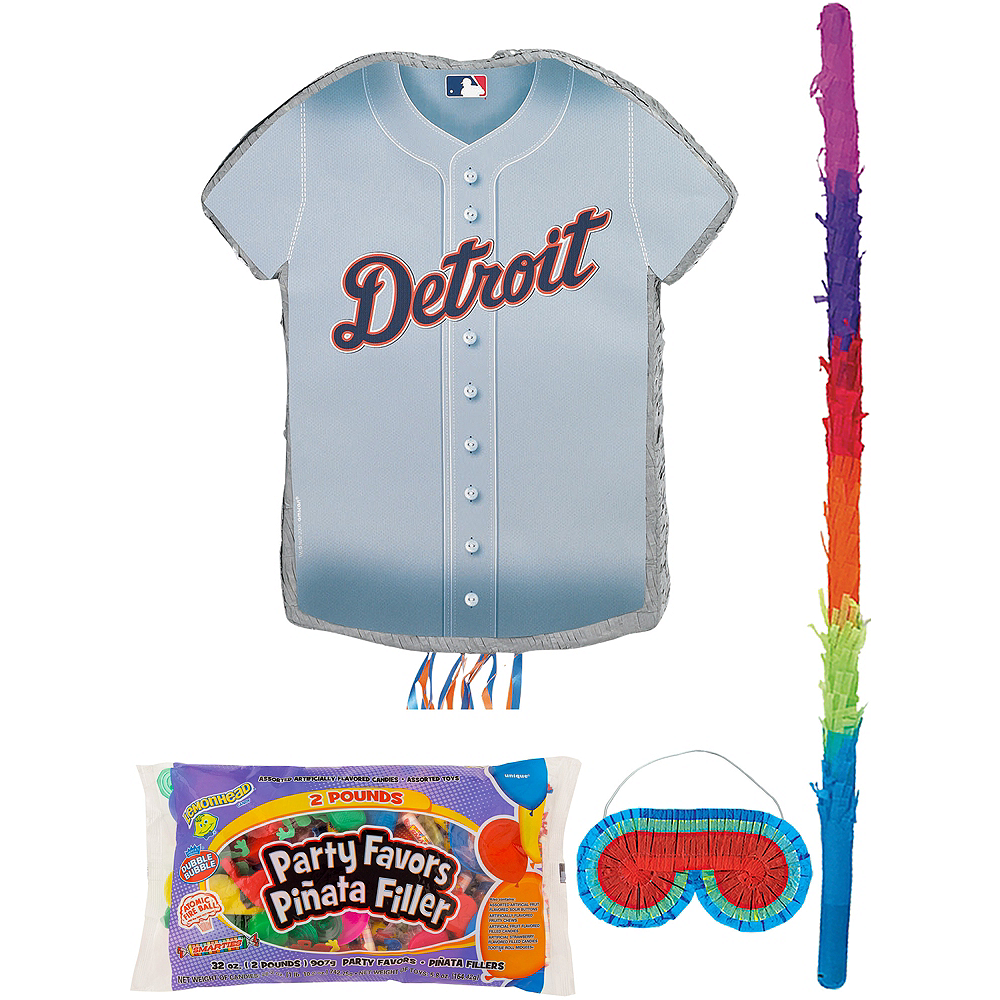 Detroit Tigers Pinata Kit with Candy & Favors Image #1