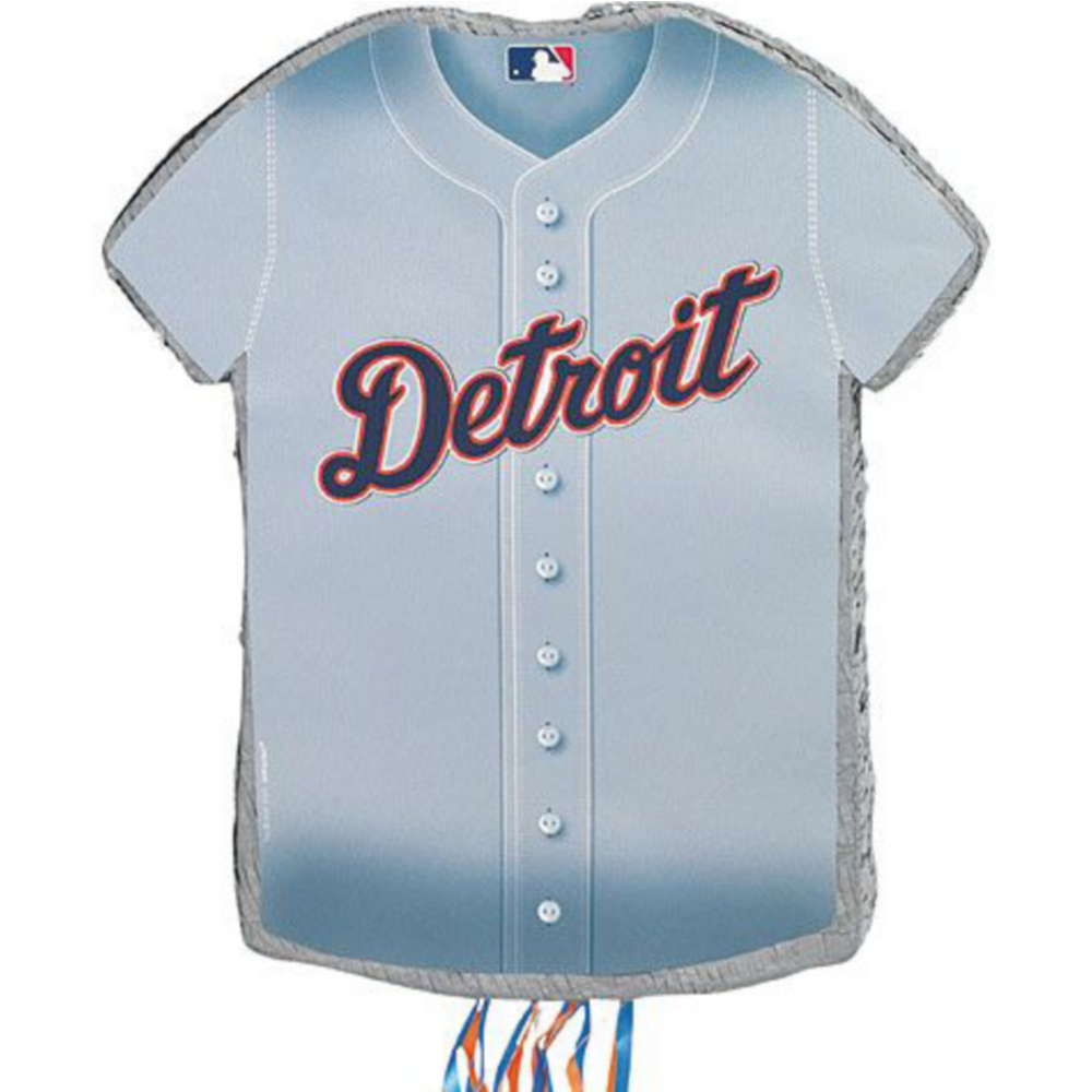 Detroit Tigers Pinata Kit with Candy & Favors Image #2