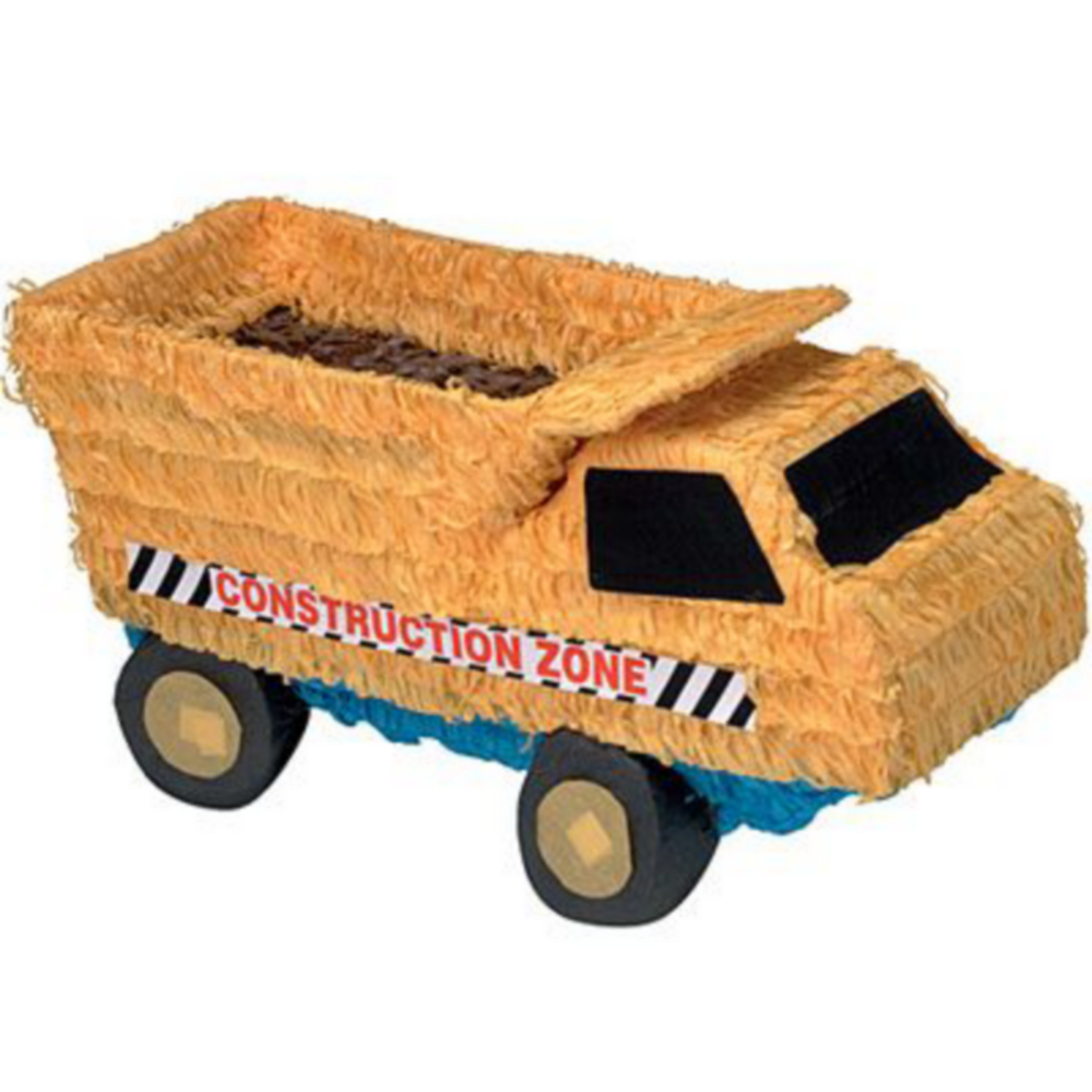 Dump Truck Pinata Kit with Candy & Favors Image #2