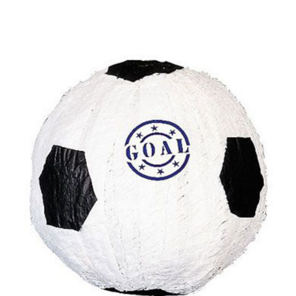 Goal Soccer Ball Pinata Kit with Candy & Favors Image #2