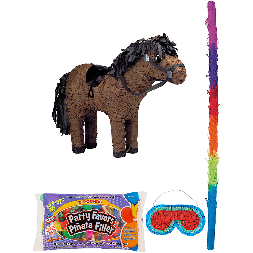 Horse Pinata Kit with Candy & Favors Image #1
