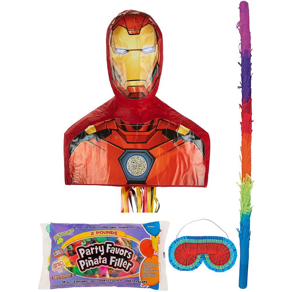 Iron Man Pinata Kit With Candy Favors Image 1