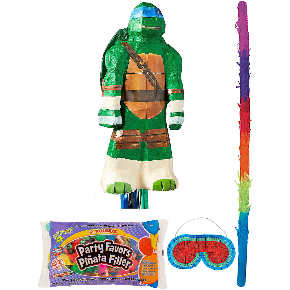Leonardo Pinata Kit with Candy & Favors - Teenage Mutant Ninja Turtles Image #1