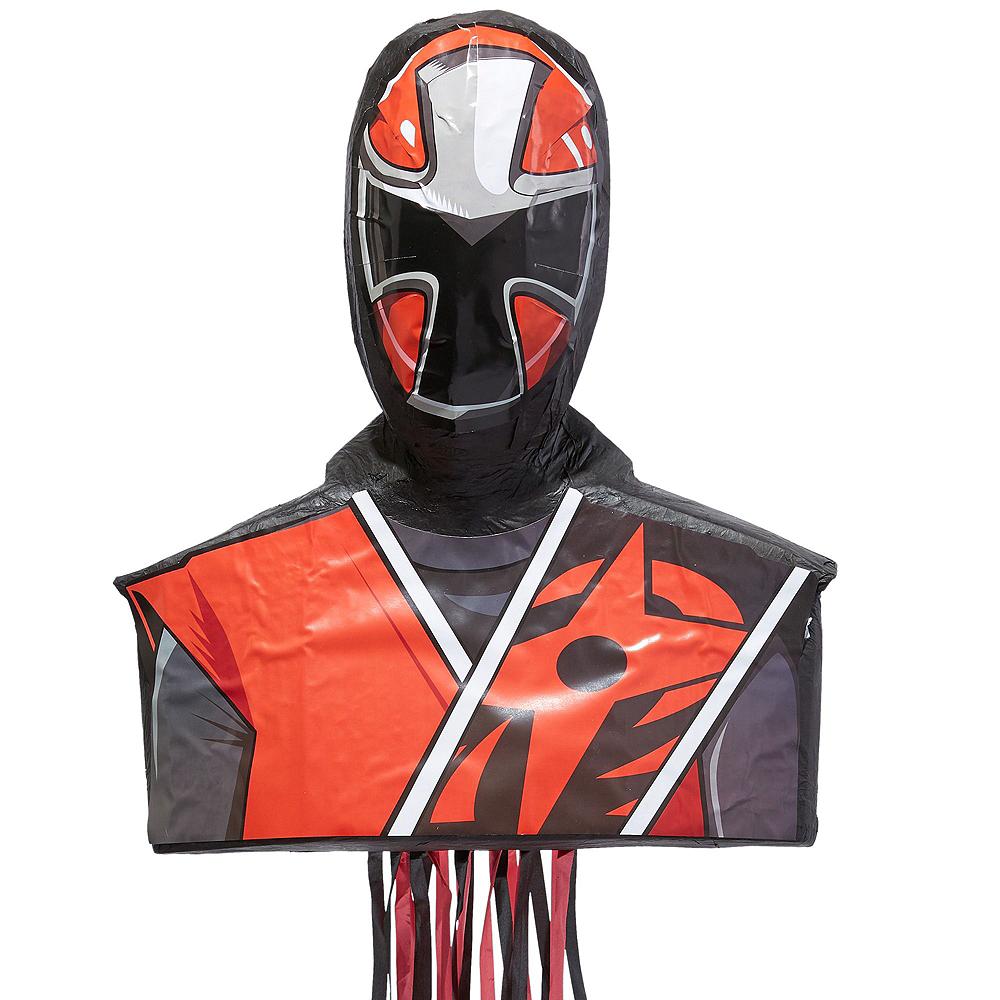 Ninja Steel Red Pinata Kit with Candy & Favors - Power Rangers Ninja Steel Image #2