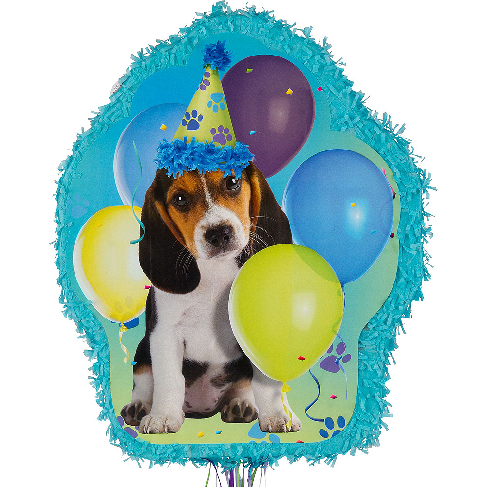 Party Pups Pinata Kit with Candy & Favors Image #2