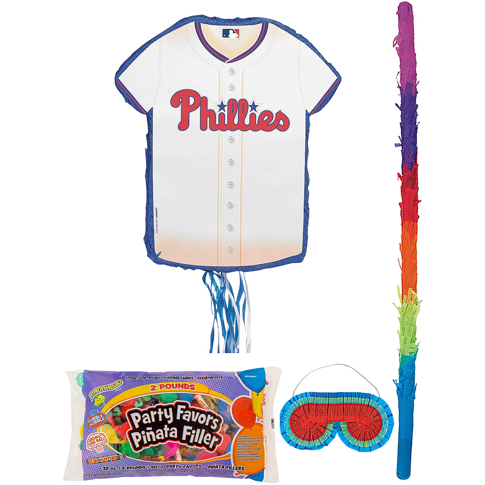 Philadelphia Phillies Pinata Kit with Candy & Favors Image #1