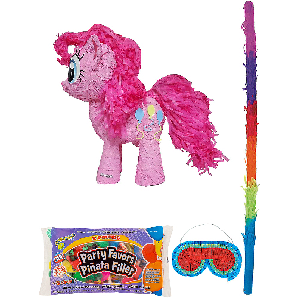 Pinkie Pie Pinata Kit with Candy & Favors - My Little Pony Image #1