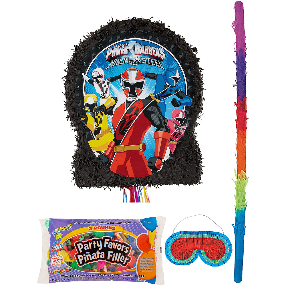 Power Rangers Pinata Kit with Candy & Favors Image #1
