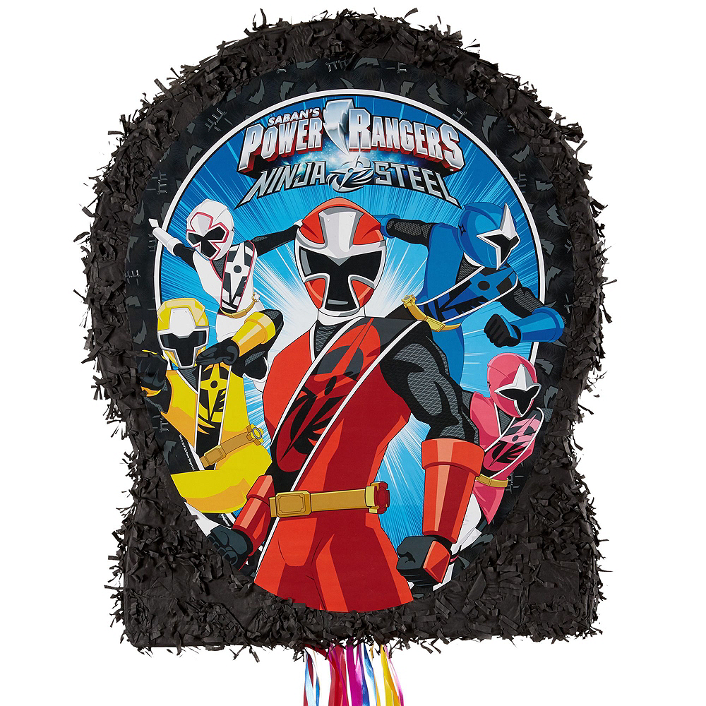 Power Rangers Pinata Kit with Candy & Favors Image #2