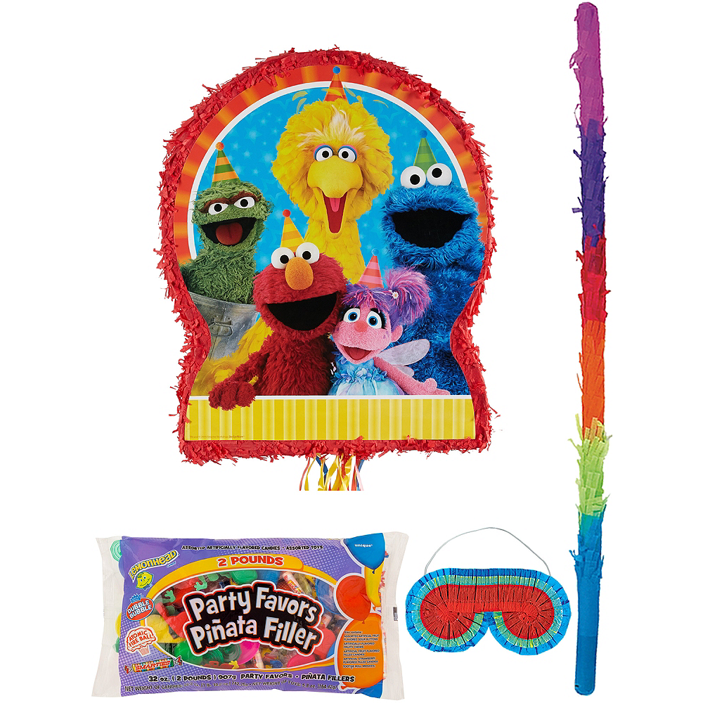 Sesame Street Pinata Kit with Candy & Favors Image #1