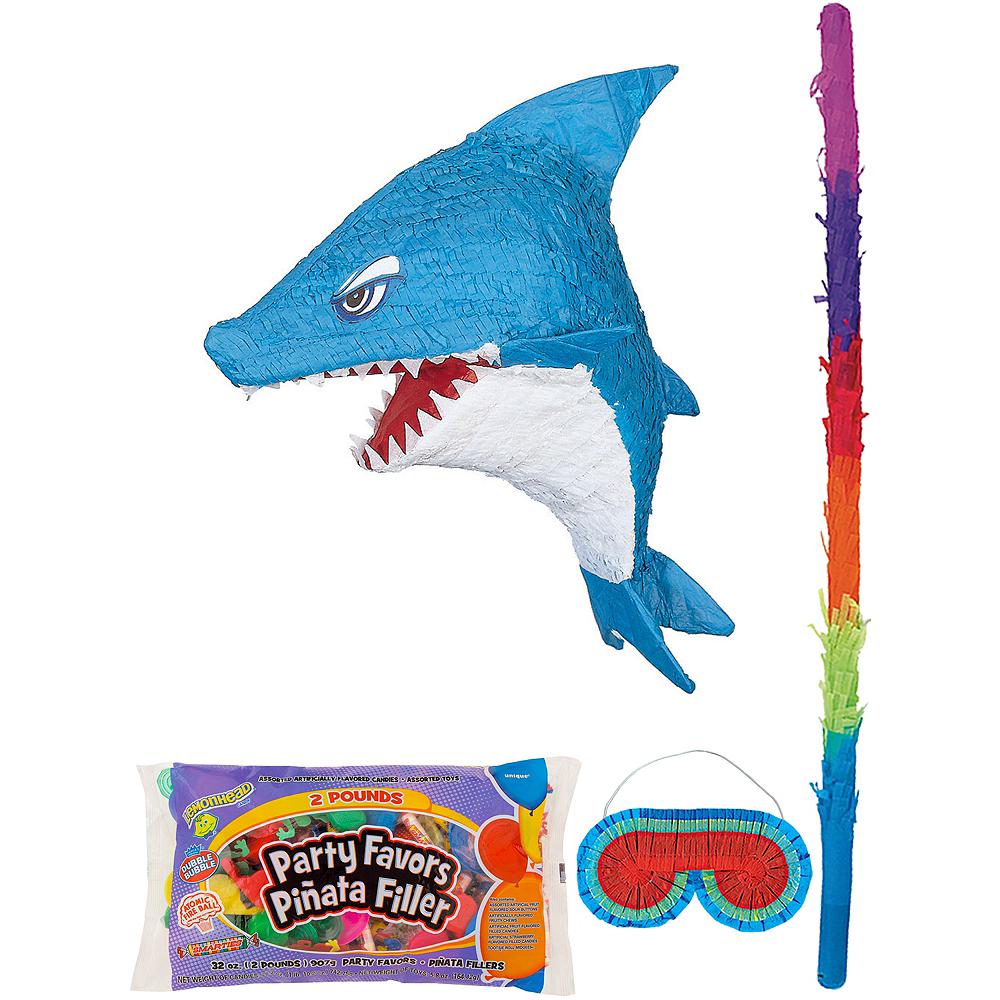 Shark Pinata Kit with Candy & Favors Image #1