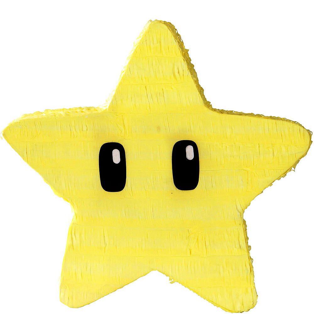 Star Pinata Kit with Candy & Favors - Super Mario Image #2