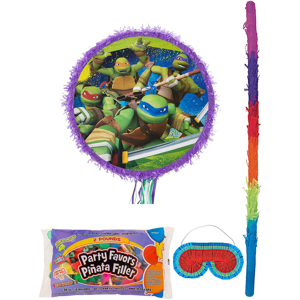 Teenage Mutant Ninja Turtles Pinata Kit with Candy & Favors Image #1
