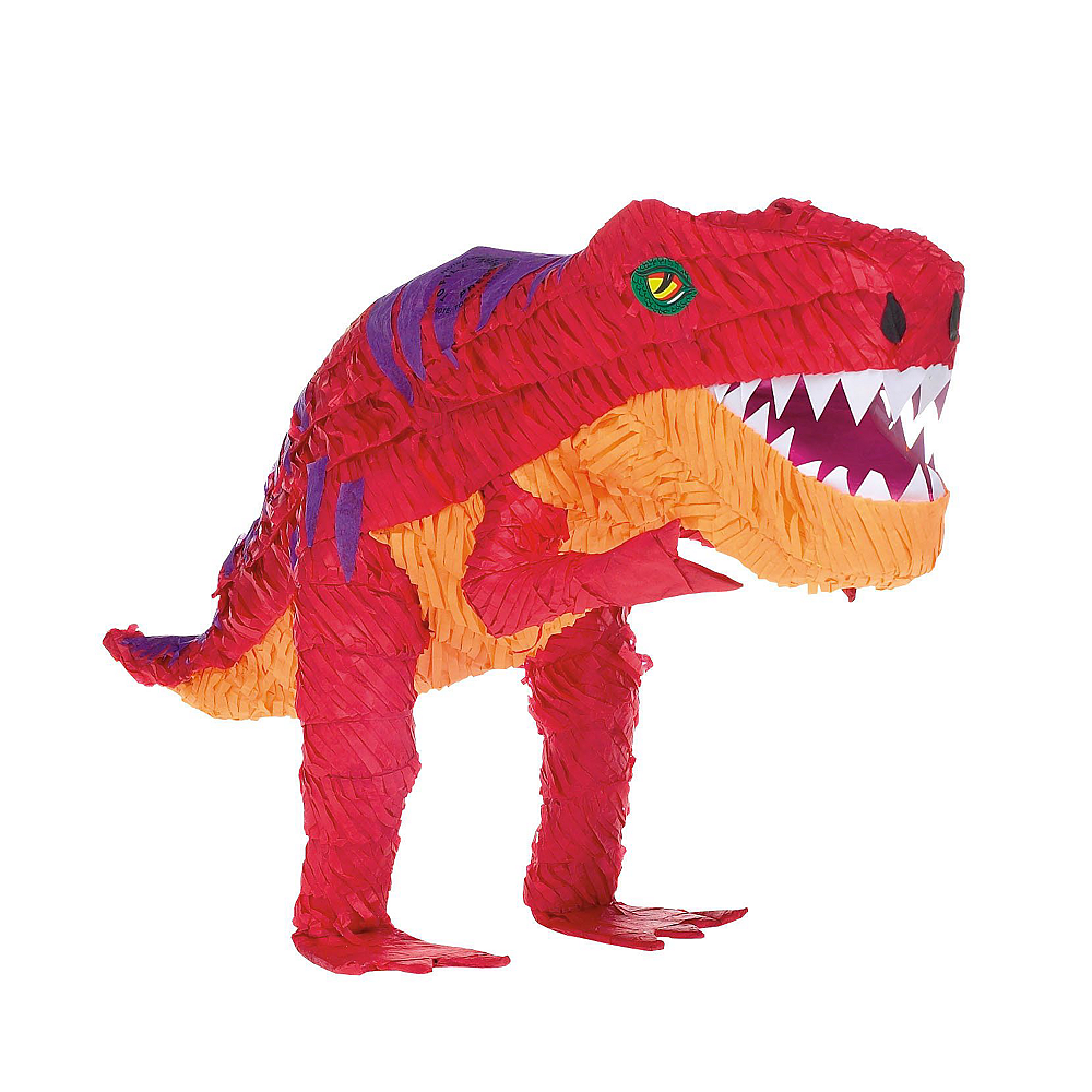 T-Rex Dinosaur Pinata Kit with Candy & Favors Image #2