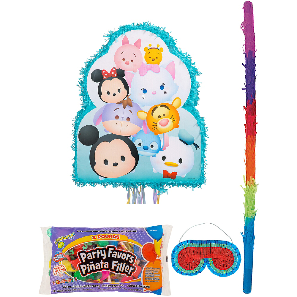 Tsum Tsum Pinata Kit with Candy & Favors Image #1