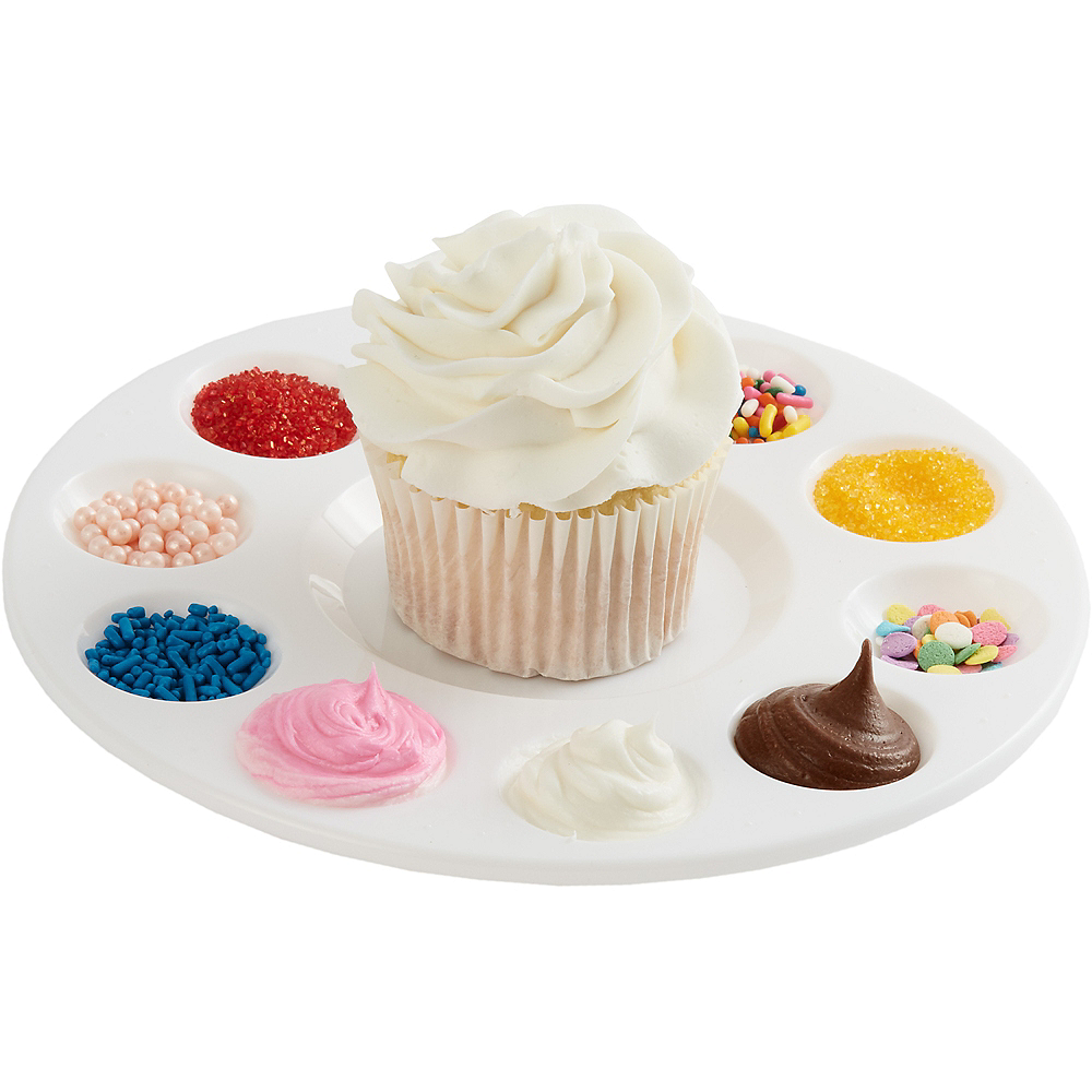 Cupcake Decorating Tray 6 3 4in Party City