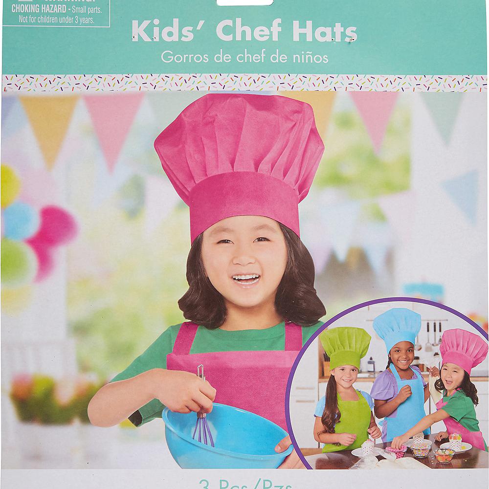 b6752ea64bdf8 ... Nav Item for Colorful Kids Chef Hats 3ct Image  2