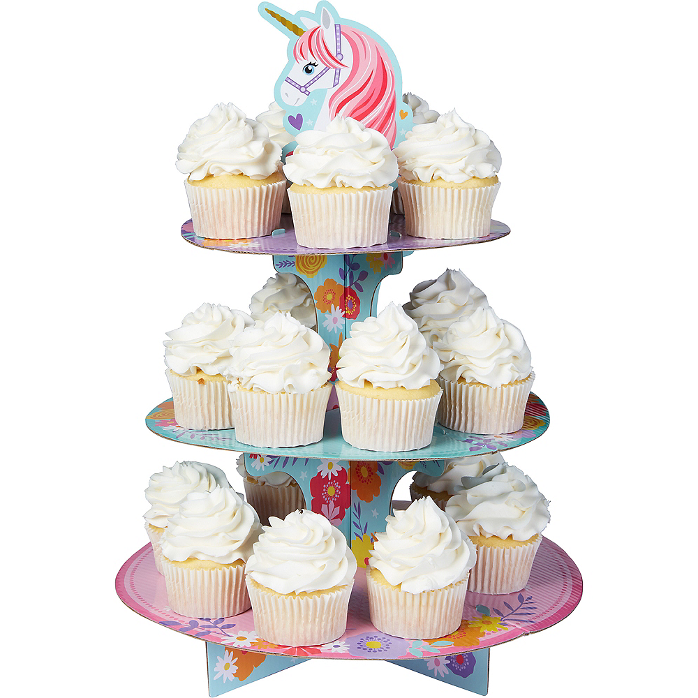 Magical Unicorn Cupcake Stand Image #1