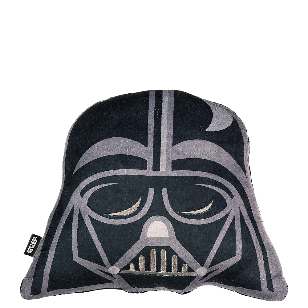 Darth Vader Pillow Plush 15in X 11 1 2in Party City