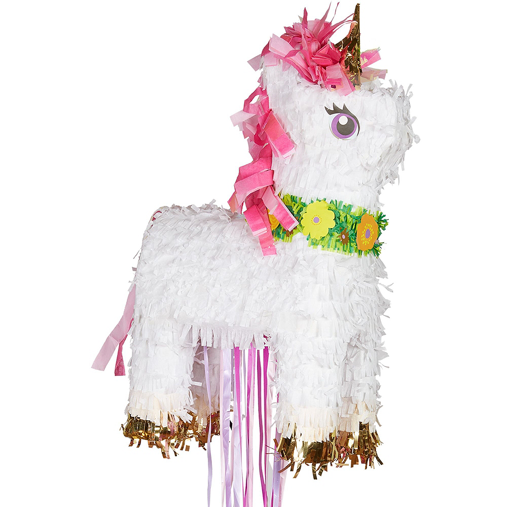 Sparkling Unicorn Pinata Kit with Candy & Favors Image #5