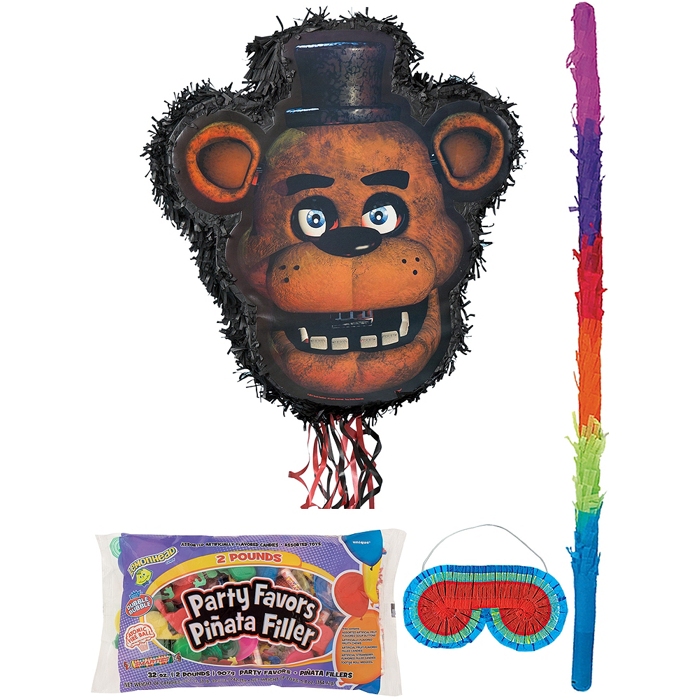 Freddy Fazbear Pinata Kit with Candy & Favors - Five Nights at Freddy's Image #1