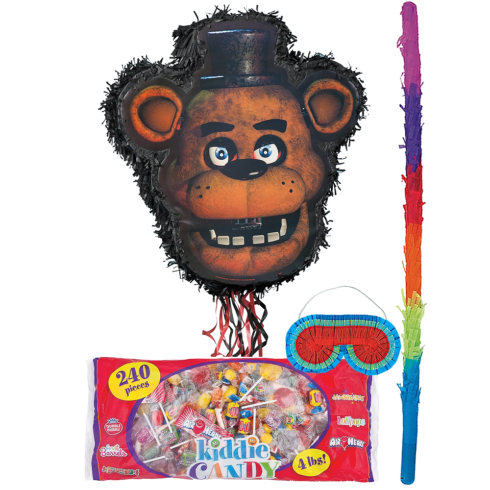 Freddy Fazbear Pinata Kit - Five Nights at Freddy's Image #1
